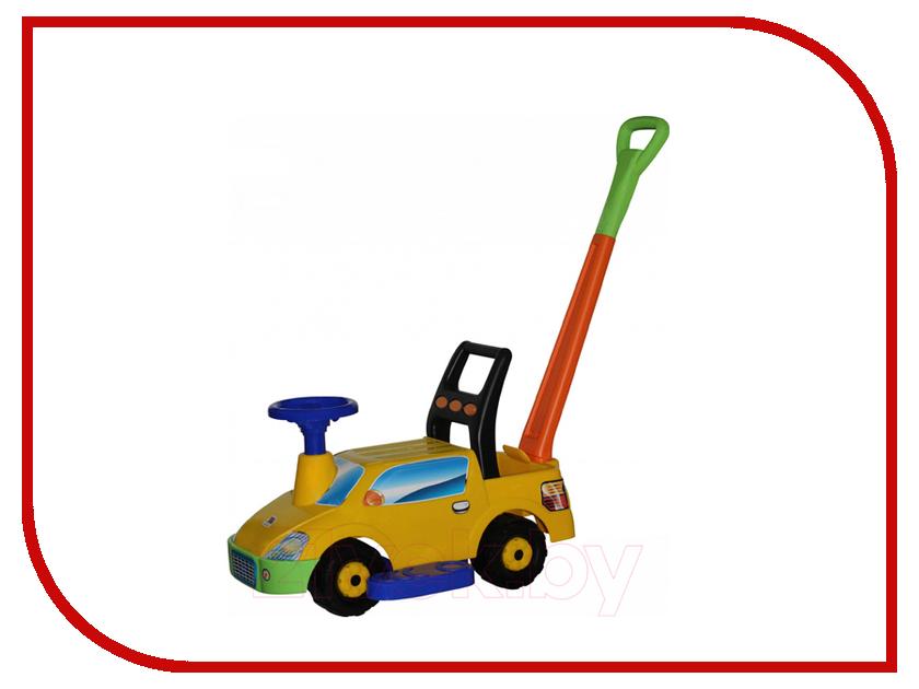 Каталка Полесье Пикап Yellow 63021 полесье полесье каталка mig скутер