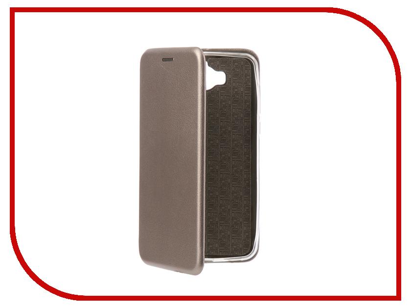 Аксессуар Чехол-книга Huawei Y5 2017 Innovation Book Silicone Silver 11504 смартфоны huawei y5 2017 grey