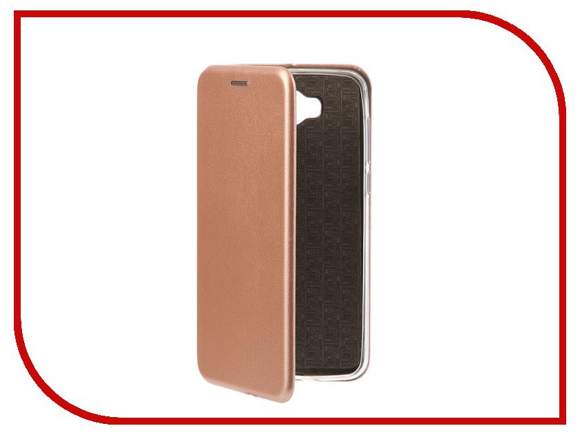 Аксессуар Чехол-книга Huawei Y5 2017 Innovation Book Silicone Rose Gold 11505 смартфон huawei y5 2017 gold