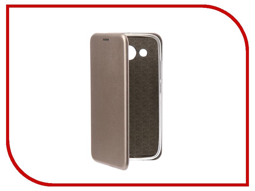 Аксессуар Чехол-книга для Huawei Y3 2017 Innovation Book Silicone Silver 11506 смартфоны huawei y5 2017 grey