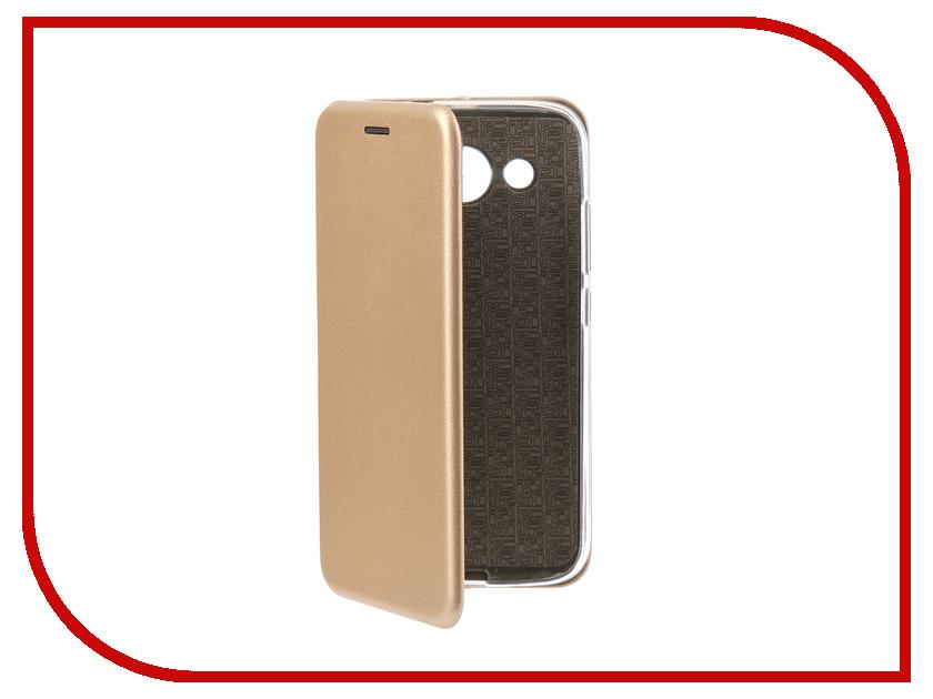 Аксессуар Чехол-книга для Huawei Y3 2017 Innovation Book Silicone Gold 11508 смартфоны huawei y5 2017 grey