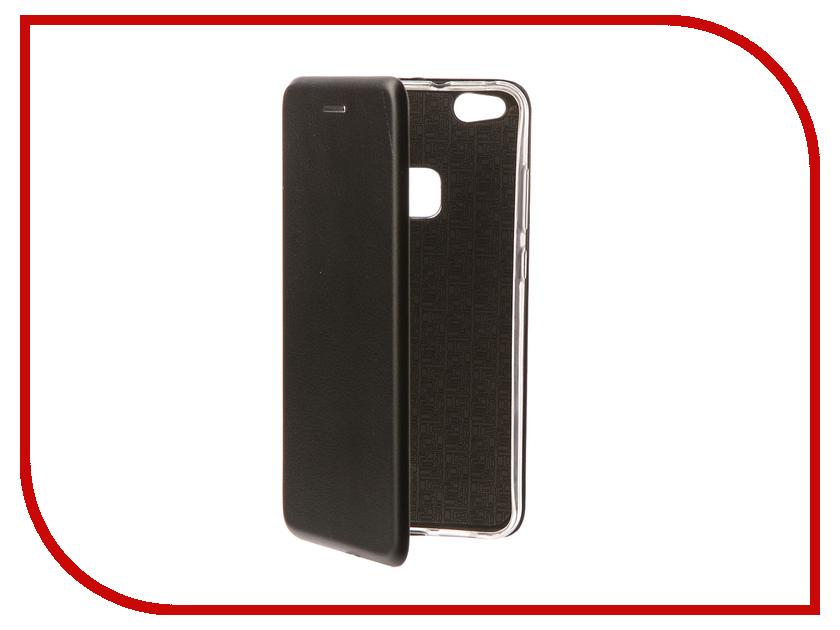 Аксессуар Чехол-книга для Huawei P10 Lite Innovation Book Silicone Black 11511 кейс для назначение huawei p9 lite huawei p8 lite p10 plus p10 рельефный кейс на заднюю панель сплошной цвет мягкий тпу для p10 plus p10