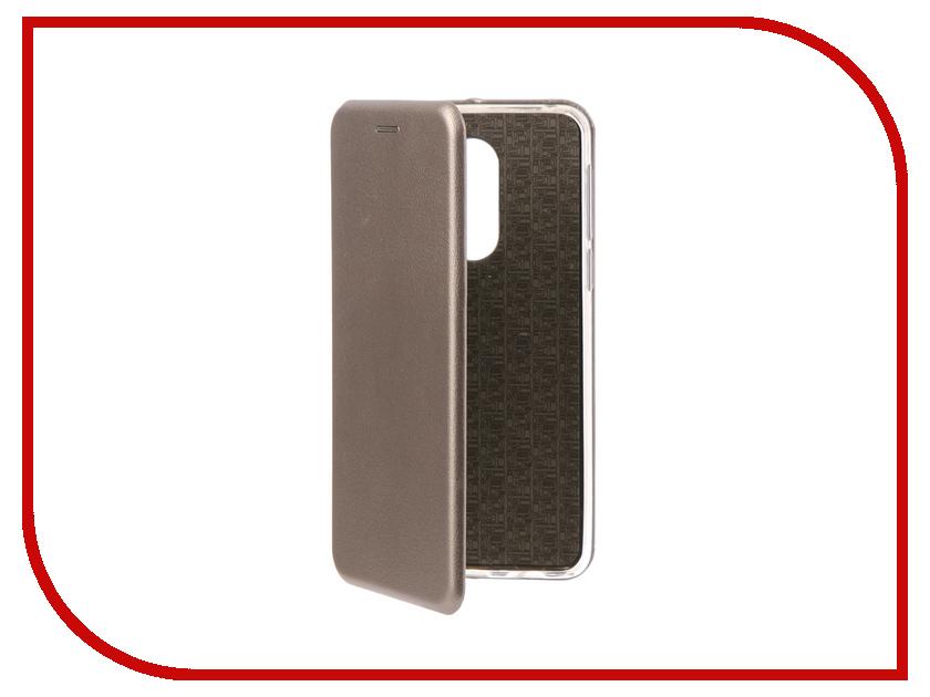 Аксессуар Чехол-книга для Huawei Honor 6X Innovation Book Silicone Silver 11520