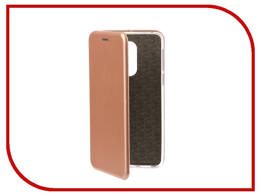 Аксессуар Чехол-книга для Huawei Honor 6X Innovation Book Silicone Rose Gold 11521