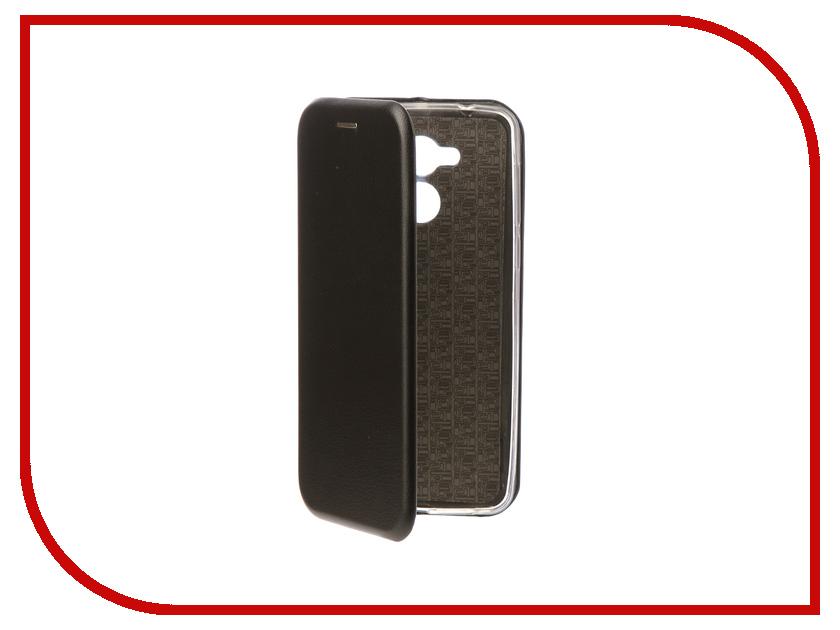 Аксессуар Чехол-книга для Huawei Honor 6C Innovation Book Silicone Black 11523