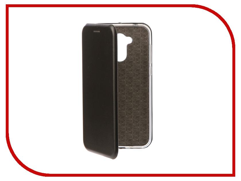 Аксессуар Чехол-книга для Huawei Honor 6A Innovation Book Silicone Black 11527