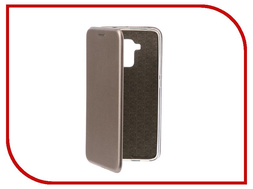 Аксессуар Чехол-книга для Huawei Honor 5C Innovation Book Silicone Silver 11536
