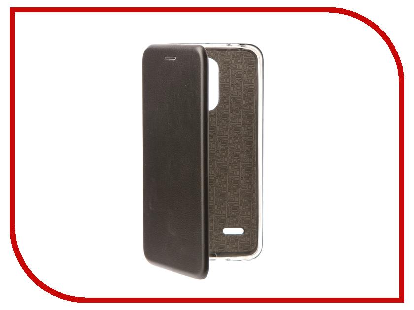 Аксессуар Чехол-книга для LG X240 K8 2017 Innovation Book Silicone Black 11539 кейс для назначение lg k8 lg lg k5 lg k4 lg k10 lg k7 lg g5 lg g4 бумажник для карт кошелек со стендом флип чехол сплошной цвет твердый