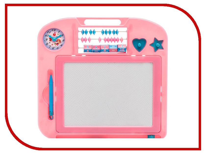 Доска для рисования магнитная Amico 31x31cm Pink 22568 / 32618 fbt amico kit