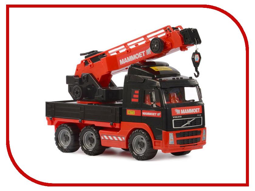Игрушка Полесье Volvo MAMMOET 57099 полесье полесье игрушка каталка mammoet volvo мега экскаватор колесный