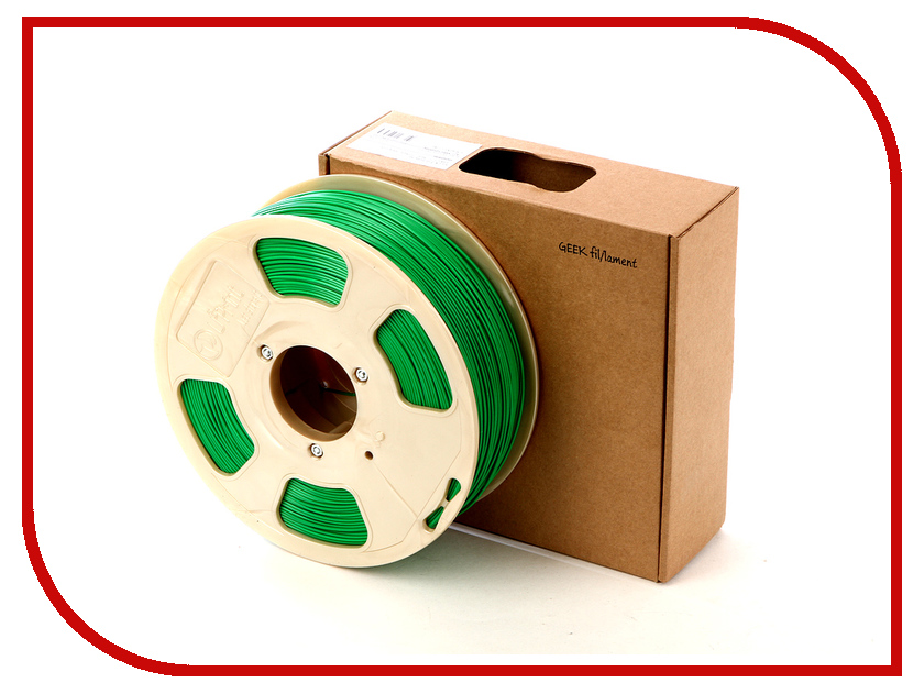 Аксессуар U3Print Geek Fil/lament ABS-пластик 1.75mm Just Green