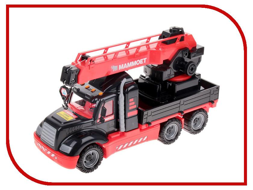 Игрушка Полесье MAMMOET 56771 полесье полесье игрушка каталка mammoet volvo мега экскаватор колесный