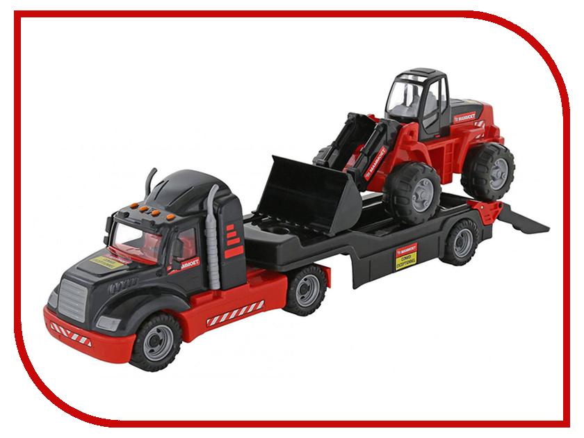 Игрушка Полесье Трейлер и трактор-погрузчик 206-01 Mammoet (56993)
