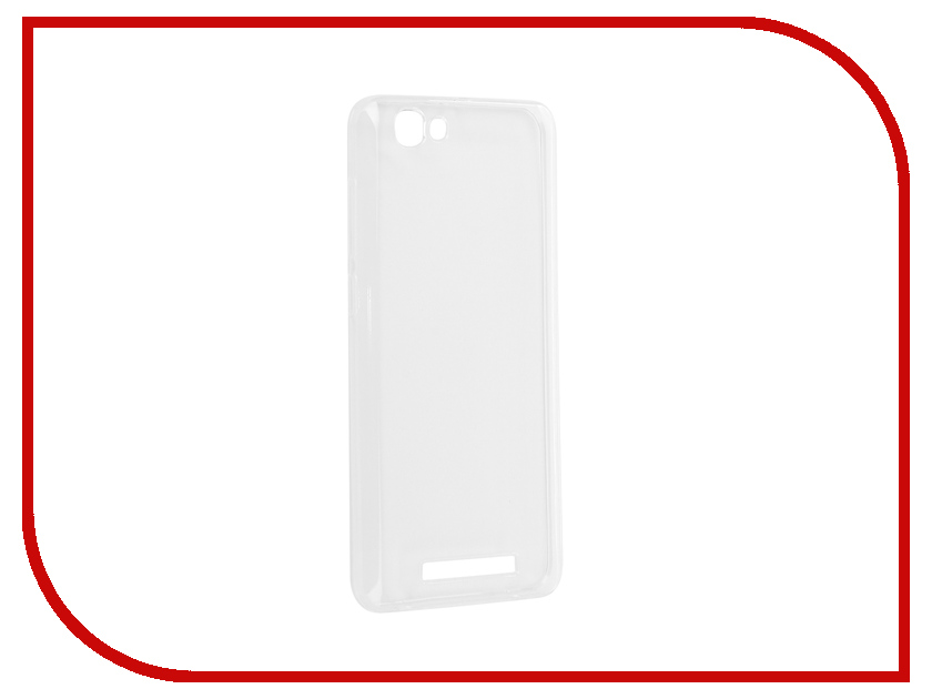 Аксессуар Чехол для ZTE A610 Pero Silicone Transparent