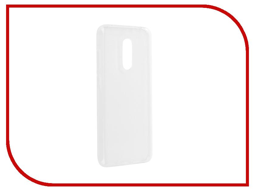 Аксессуар Чехол Xiaomi Redmi 5 Plus Pero Silicone Transparent аксессуар чехол xiaomi redmi 4 onext silicone transparent 70500