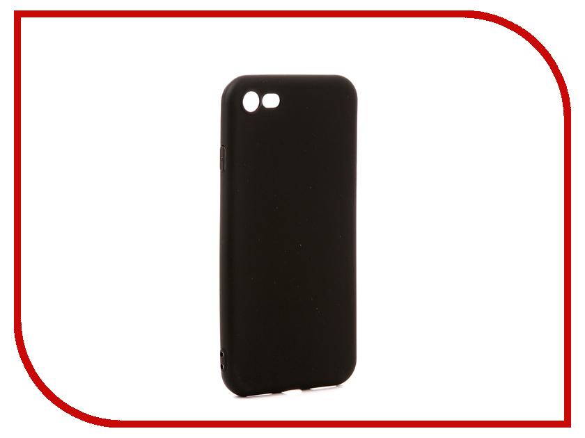 Аксессуар Чехол Pero Soft Touch для APPLE iPhone 8 Black аксессуар чехол для xiaomi mi max 2 pero soft touch black prstc mmax21b