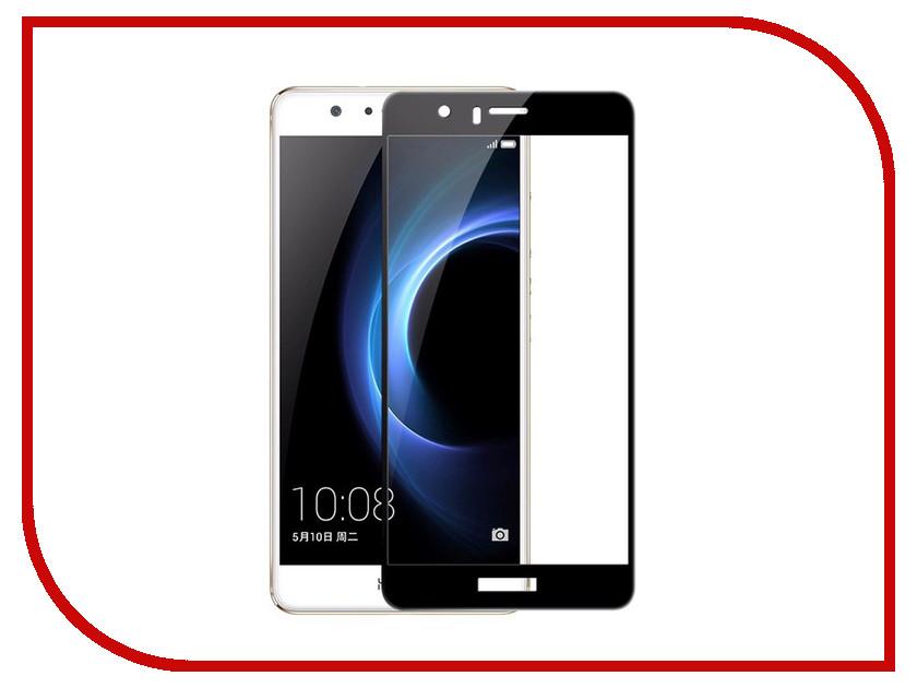 Аксессуар Защитное стекло Huawei Honor 8 Media Gadget 2.5D Full Cover Glass Black Frame MGFCHH8BK аксессуар защитное стекло samsung galaxy a3 2017 solomon full cover black