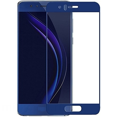 Аксессуар Защитное стекло Media Gadget для Honor 8 2.5D Full Cover Glass Blue Frame MGFCHH8BL