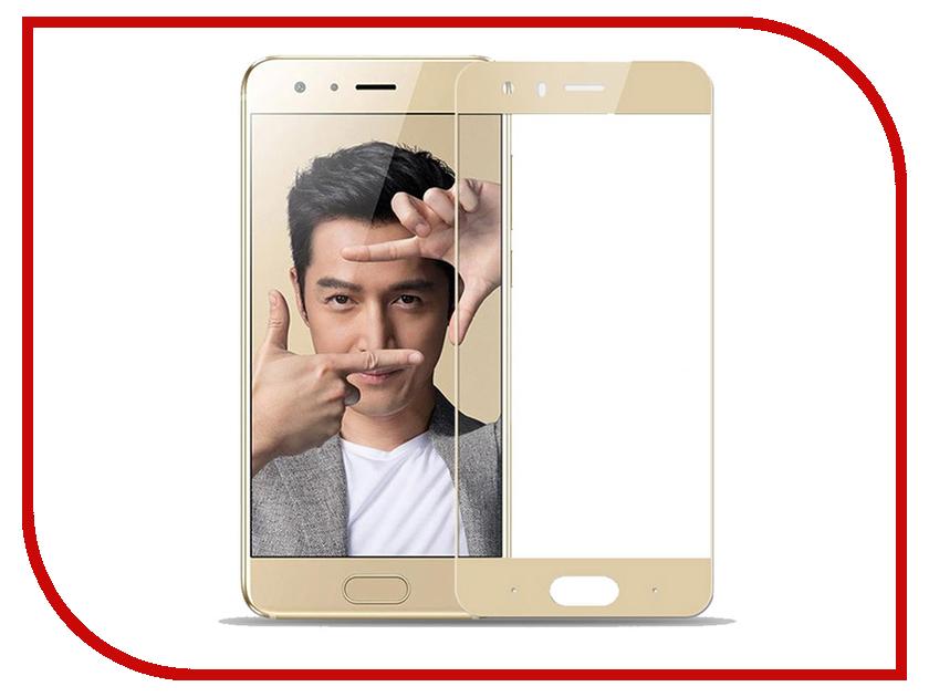 Аксессуар Защитное стекло для Huawei Honor 9 Media Gadget 2.5D Full Cover Glass Gold Frame MGFCHH9GD аксессуар чехол для honor play 2018 eu media gadget essential clear cover transparent ecchhp2018tr