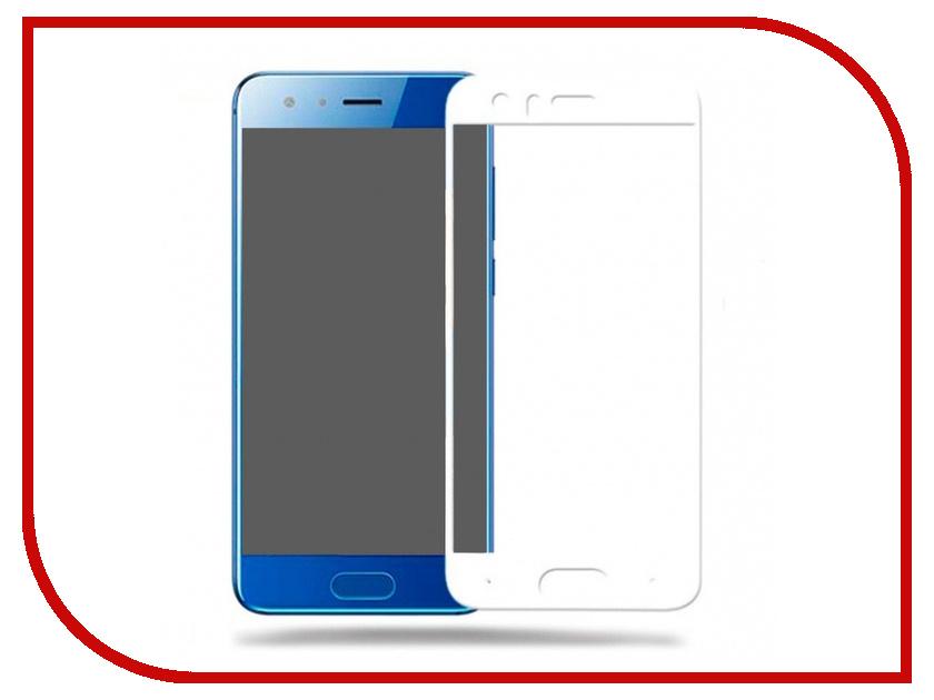 Аксессуар Защитное стекло Huawei Honor 9 Media Gadget 2.5D Full Cover Glass White Frame MGFCHH9WT аксессуар защитное стекло huawei honor 8 lite media gadget 2 5d full cover glass black frame mgfchh8lbk