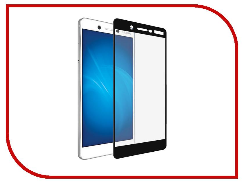 Аксессуар Защитное стекло Nokia 7 Media Gadget 2.5D Full Cover Glass Black Frame MGFCNK7BK