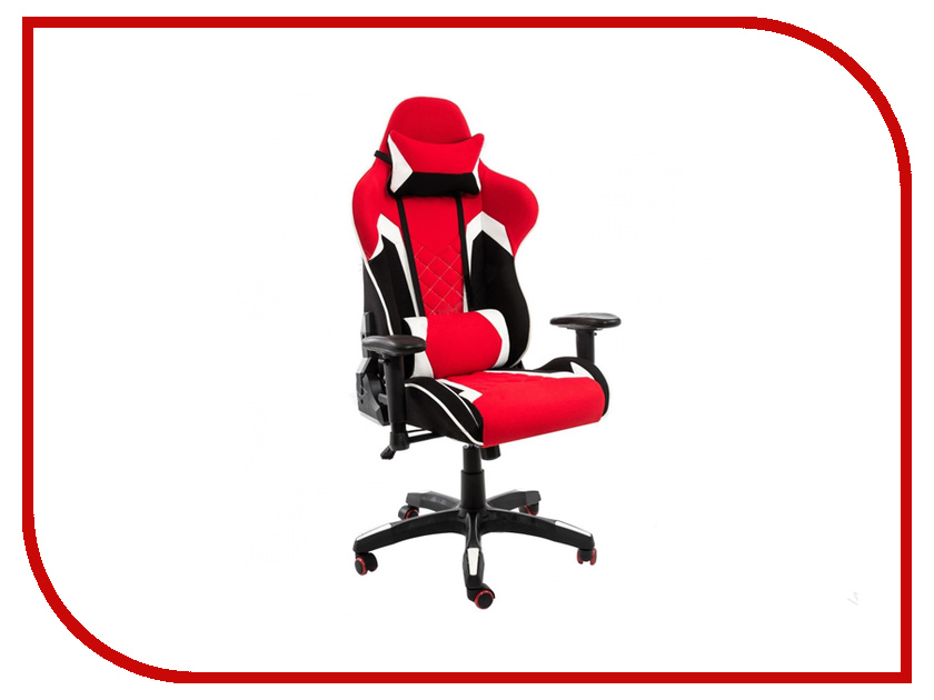 Компьютерное кресло Woodville Prime Black-Red 1859