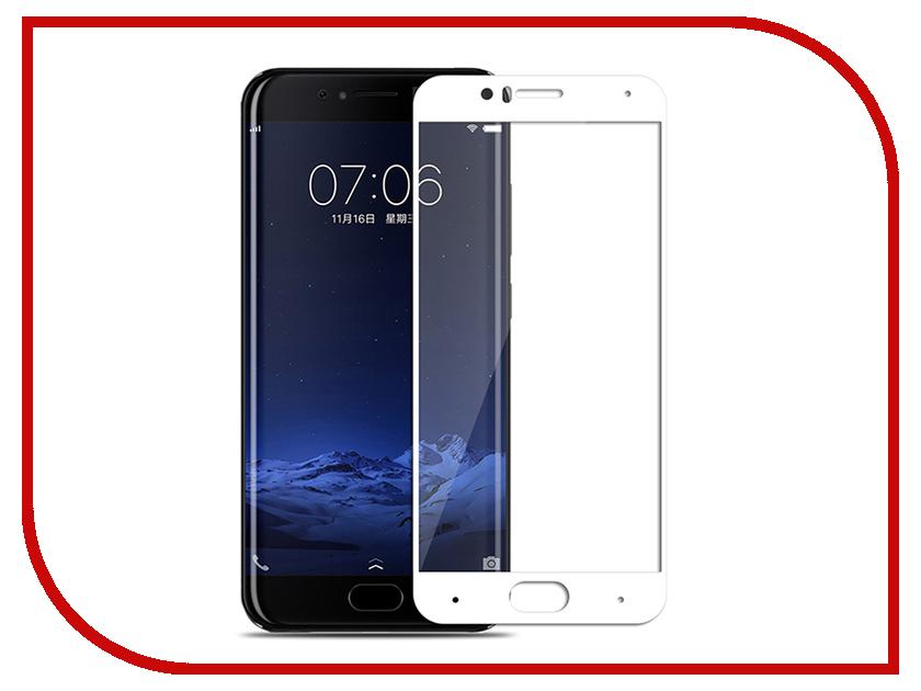 Аксессуар Защитное стекло для Xiaomi Mi 6 (17) Media Gadget 2.5D Full Cover Glass White Frame MGFCXM6WT