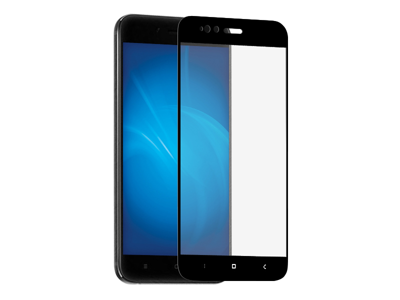 Аксессуар Защитное стекло Media Gadget для Xiaomi Mi A1 2.5D Full Cover Glass Black Frame MGFCXMA1BK аксессуар противоударное стекло для xiaomi mi 7 innovation 2d full glue cover white 12756