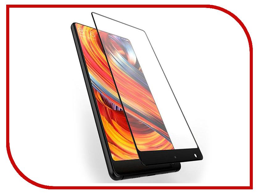 Аксессуар Защитное стекло Xiaomi Mi Mix 2 Media Gadget 2.5D Full Cover Glass Black Frame MGFCXMIX2BK аксессуар защитное стекло samsung galaxy a3 2017 solomon full cover black