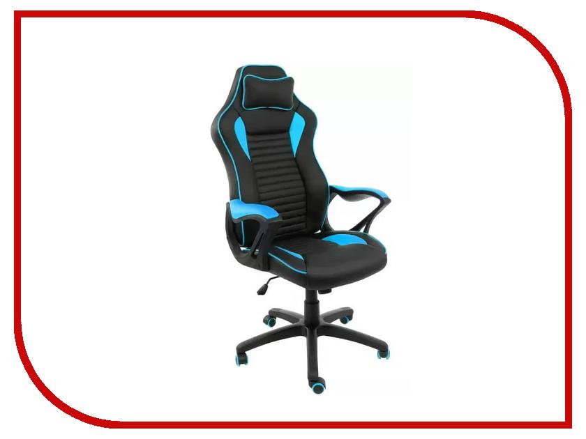 Компьютерное кресло Woodville Leon Light Blue-Black 1875 dxseat v44 xb компьютерное кресло blue