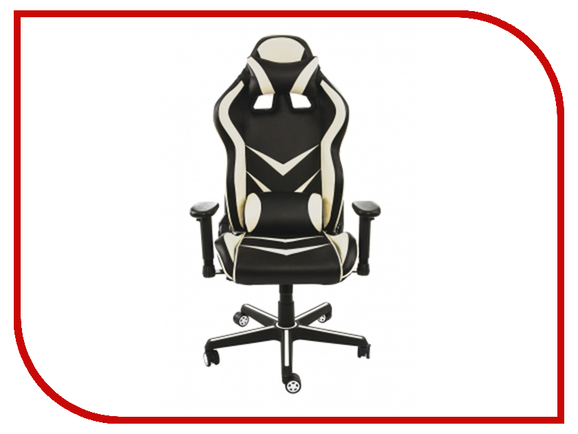 Компьютерное кресло Woodville Racer Black-Beige 1857