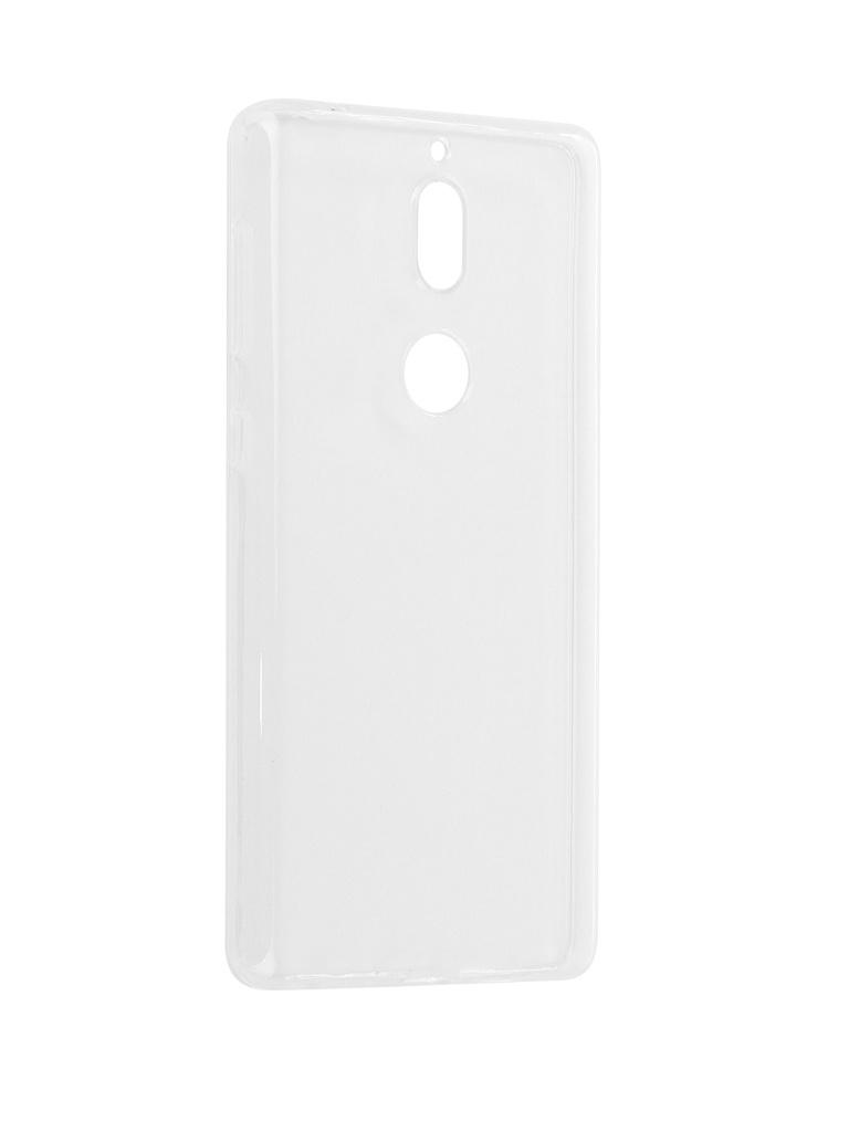 Чехол Pero для Nokia 7 Silicone Transparent