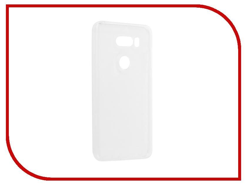 Аксессуар Чехол для LG V30 Pero Silicone Transparent аксессуар чехол для nokia 6 2018 pero silicone transparent