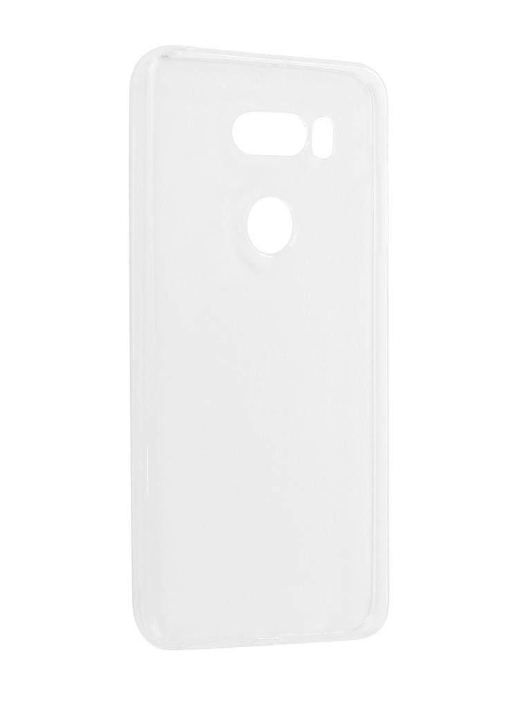 купить Аксессуар Чехол Pero для LG V30 Silicone Transparent по цене 583 рублей