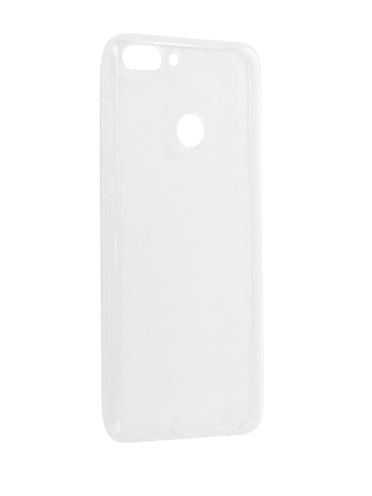Аксессуар Чехол Pero для Huawei P Smart Silicone Transparent PRSLC-HPSMTR