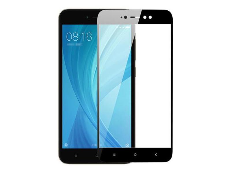 Аксессуар Защитное стекло Media Gadget для Xiaomi Redmi Note 5A 2.5D Full Cover Glass Black Frame MGFCXRN5ABK цена