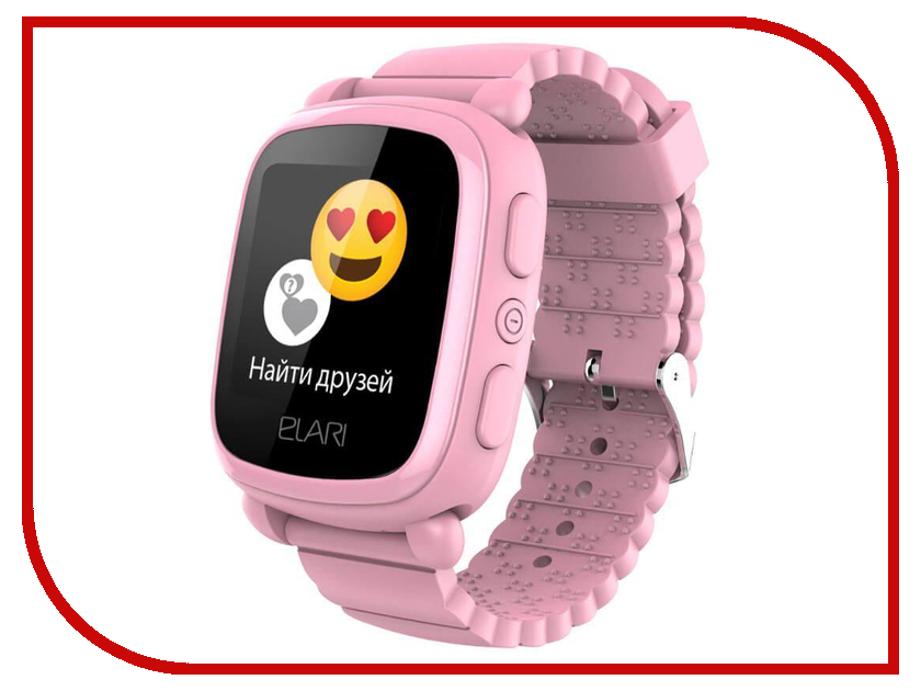 где купить Elari KidPhone 2 Pink дешево