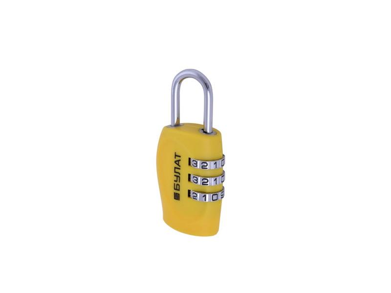 Замок Булат ВС 303-Blister Yellow цена