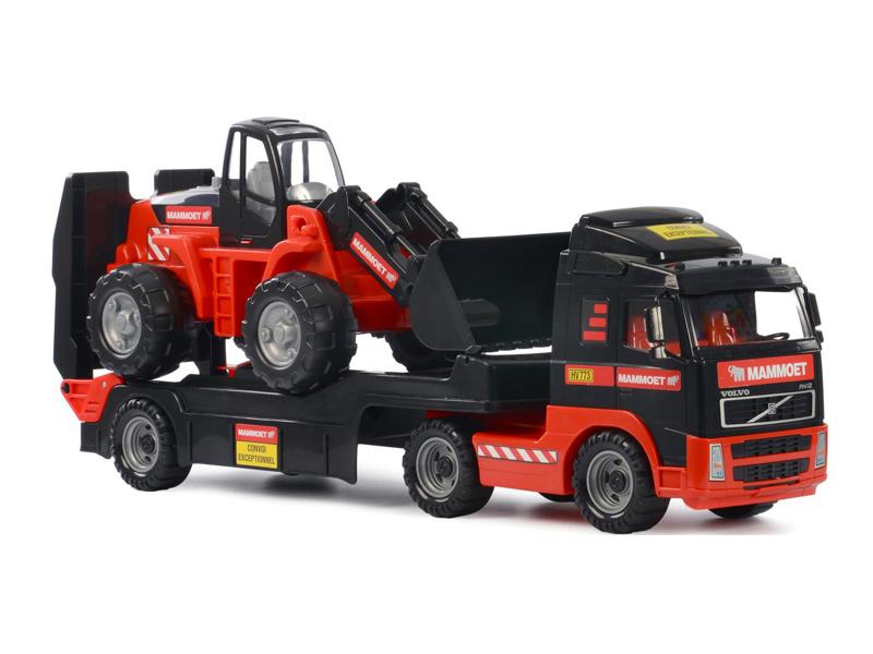 Игрушка Полесье Трейлер и трактор-погрузчик Mammoet Volvo 204-01 (56733)