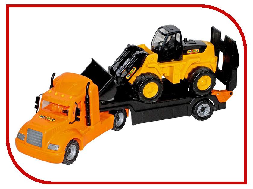 Игрушка Полесье Трейлер и трактор погрузчик Майк 55736 машина полесье майк 55590