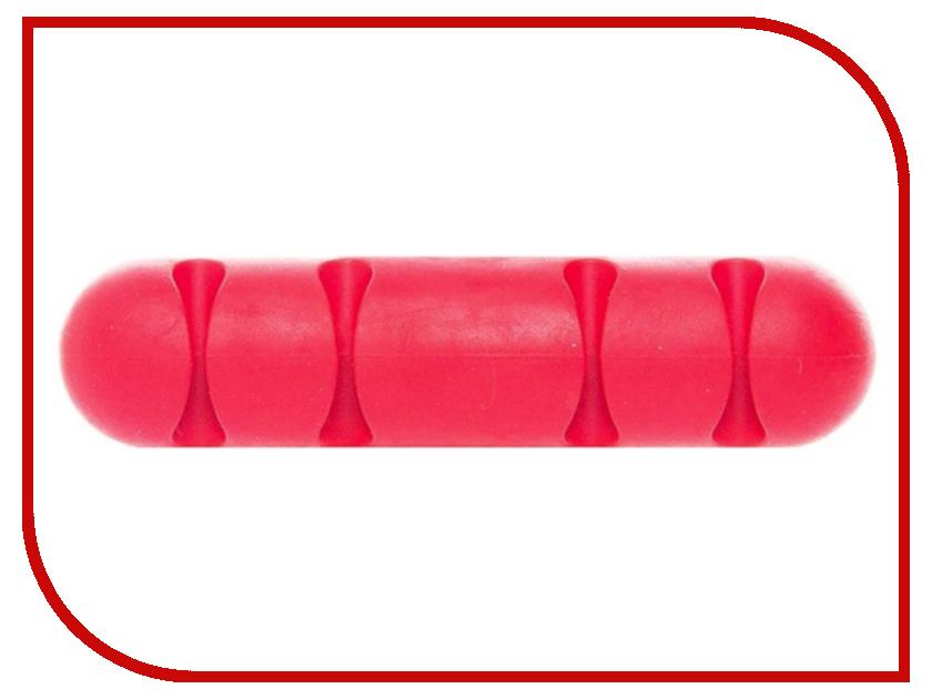 Держатель для кабеля Activ CC-002 for 4 Cables Red 80271