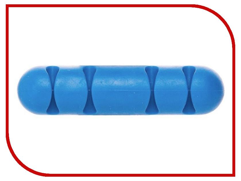 Держатель для кабеля Activ CC-002 for 4 Cables Blue 80266