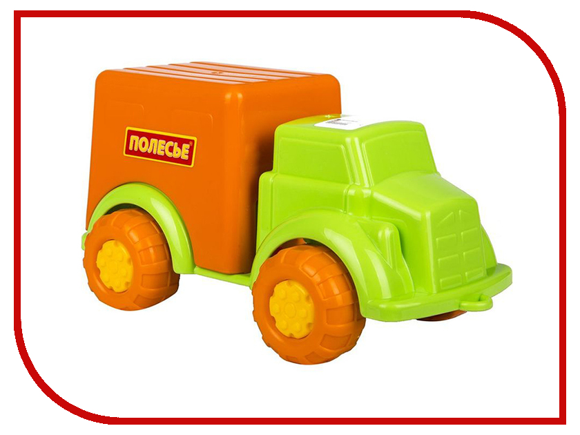 Игрушка Полесье Антошка Фургон 4717