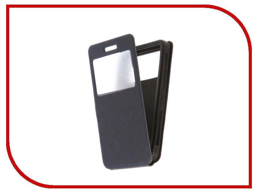 Чехол CaseGuru 5.3-5.9-inch универсальный, вертикальный Azure Blue 101957