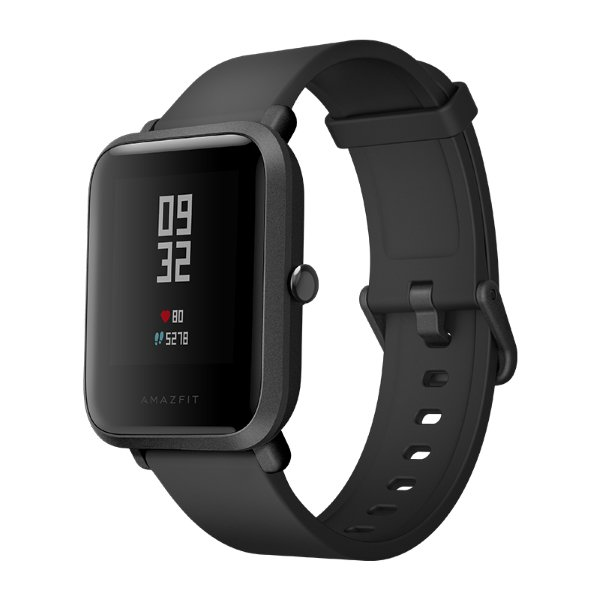 Умные часы Xiaomi Huami Amazfit Bip Black / Onyx Выгодный набор + серт. 200Р!!!