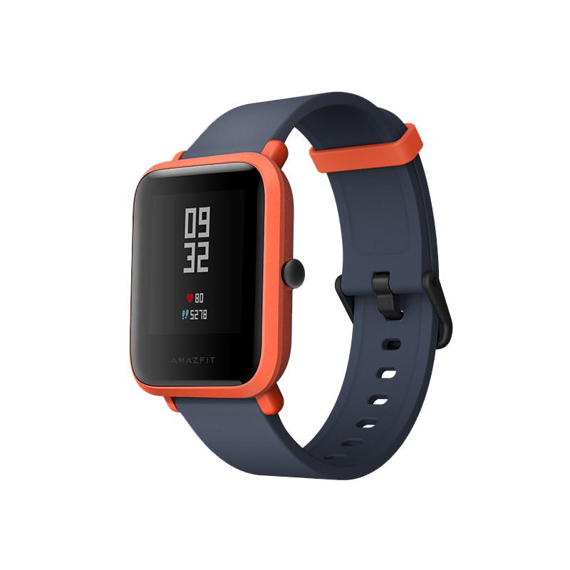 Умные часы Xiaomi Huami Amazfit Bip Orange / Cinnabar Red Выгодный набор + серт. 200Р!!!
