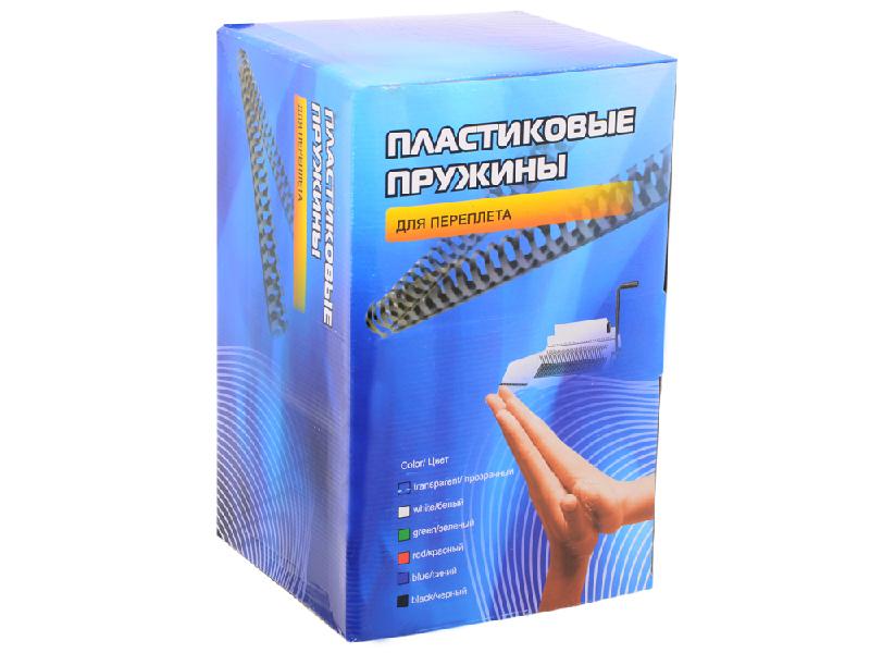 Пружины для переплета Office Kit 51мм 50шт Black BP2130