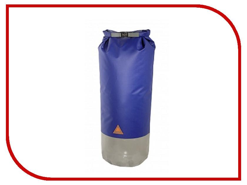 Гермомешок WoodLand DP60 Dry Bag 60L Blue кальсоны woodland ultra wool thermo цвет черный 0057768 размер xxxl 58 60