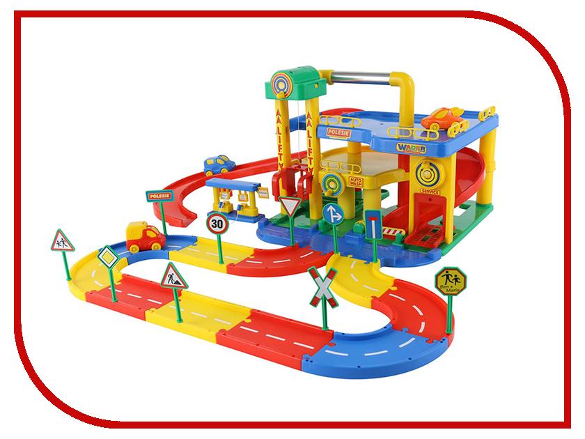 Игрушка Полесье Гараж №1 37831 игрушка полесье тюнинг центр pit stop 1 53695