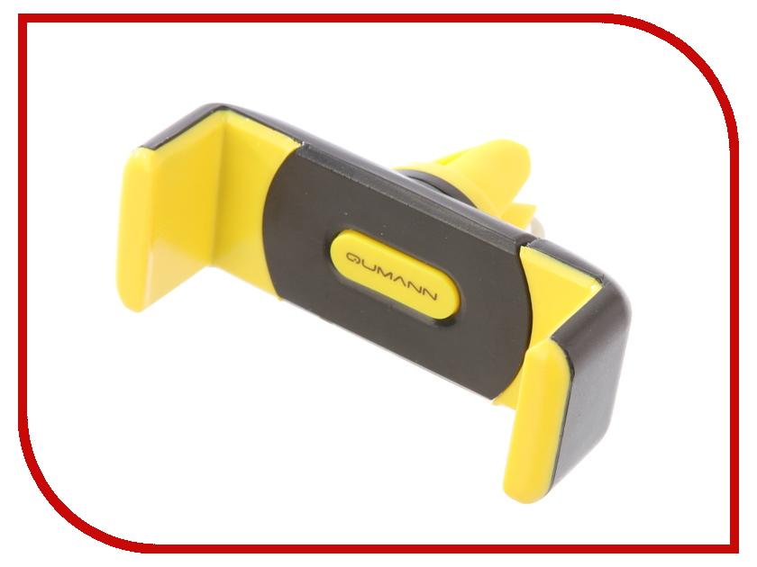 Держатель Qumann QHP-03 Air Black-Yellow 30132